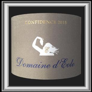 CONFIDENCE 2015 le vin de Provence du Domaine d'Éole pour notre blog sur le vin