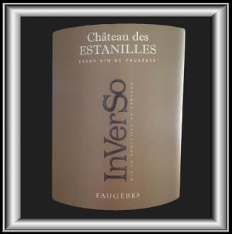 INVERSO BLANC 2015 le Faugères du Château Des Estanilles pour notre blog sur le vin