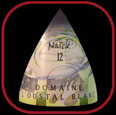 NAÏCK 2012 le vin blanc du Domaine de l'Oustal Blanc pour notre blog sur le vin