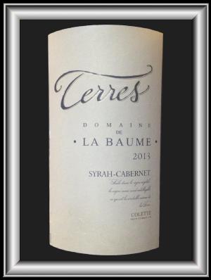 TERRES 2013 le vin du Domaine De La Baume pour notre blog sur le vin