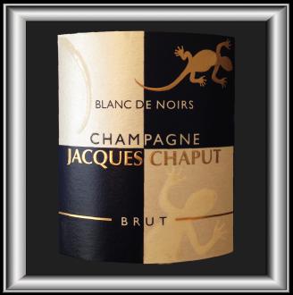 Blanc de Noirs notre champagne du domaine Jacques Chaput pour notre blog sur le vin