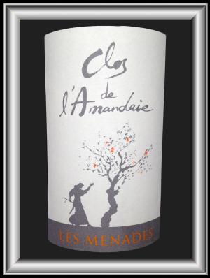 les Ménades 2011 le vin du domaine du Clos de l'Amandaie pour notre blog sur le vin
