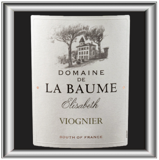 Elisabeth 2014 le vin du domaine de la Baume pour notre blog sur le vin