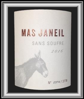 Sans soufre 2016 le vin du domaine Mas Janeil pour notre blog sur le vin