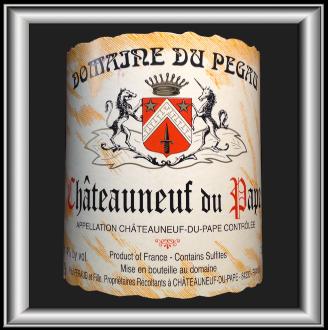 Cuvée réservée 2013 le vin du domaine du Pégau pour notre blog sur le vin