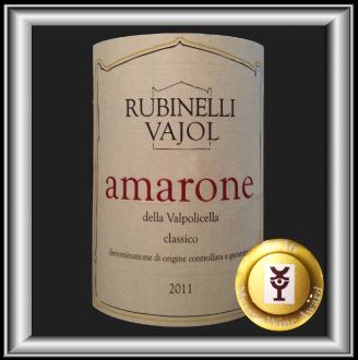 Amarone Della Valpolicella vin du domaine Rubinelli Vajol pour notre blog sur le vin