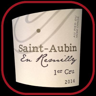 AU PIED DU MONT CHAUVE 2014 le Saint Aubin en Remilly 1er Cru du Domaine Famille Picard pour notre blog sur le vin