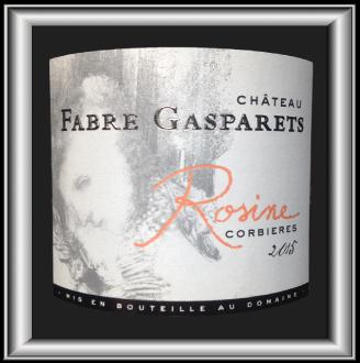 Rosine 2015 le vin du Château Fabre Gasparets pour notre blog sur le vin