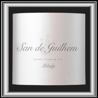 Milady 2016 le vin du domaine San de Guilhem pour notre blog sur le vin