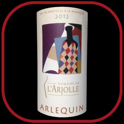 Arlequin 2012 le vin du domaine de l'Arjolle pour notre blog sur le vin