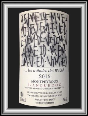 Les initiales de Divem, le vin du domaine Divem pour notre blog sur le vin