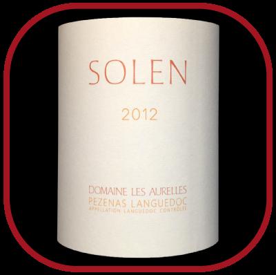 Solen 2012, le vin du domaine les Aurelles pour notre blog sur le vin