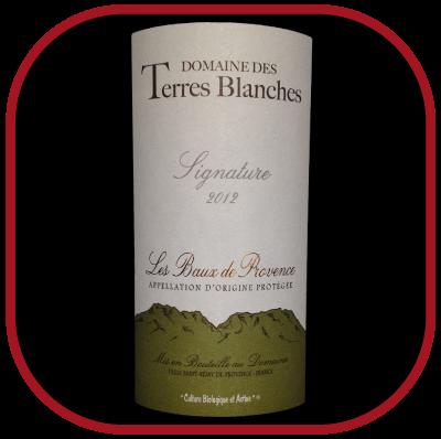 Signature 2012 le vin du Domaione des Terres Blanches pour notre blog sur le vin