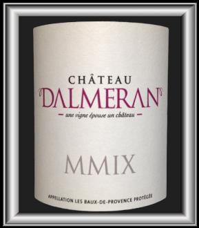 Rouge 2009 le vin du château Dalmaran pour notre blog sur le vin