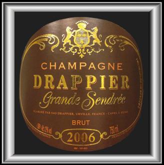 La Grande Sendrée 2006, le champagne du domaine Drappier pour notre blog sur le vin