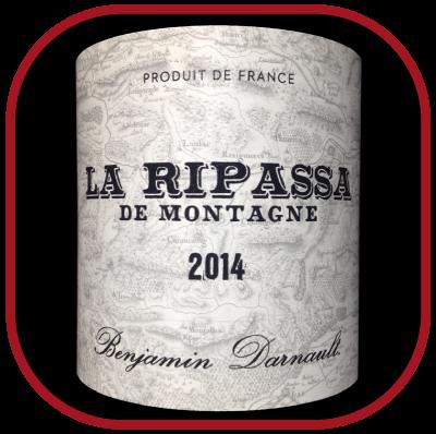 La Ripassa de montagne 2014 le vin de Benjamin Darnault pour notre blog sur le vin