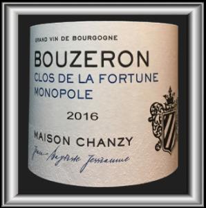 CLOS DE LA FORTUNE MONOPOLE 2016 le Bourgogne de la Maison Chanzy pour notre blog sur le vin