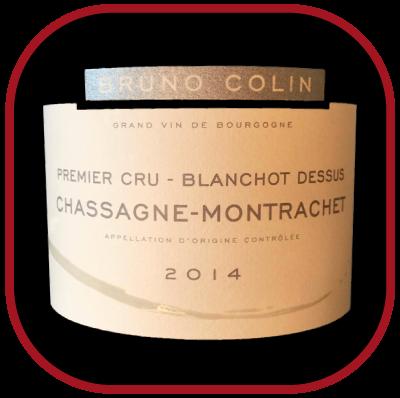 Blanchot Dessus 2014, le vin du domaineBruno Colin pour notre blog sur le vin