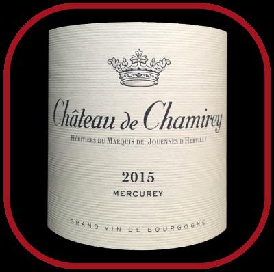 Mercurey 2015, le vin du château de Chamirey pour notre blog sur le vin