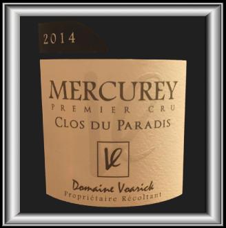 Clos du Paradis 2014, le vin du Domaine Voarick pour notre blog sur le vin.