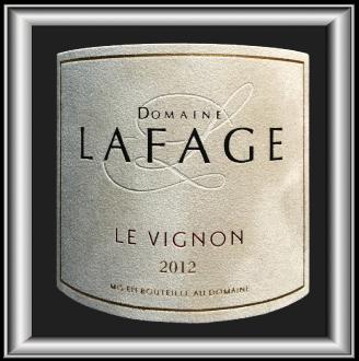 Vignon 2012, le vin du Domaine Lafage pour notre blog sur le vin