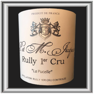 Région d'appellation : Bourgogne - Rully Premier Cru Cépage : Chardonnay Prix : 20 €