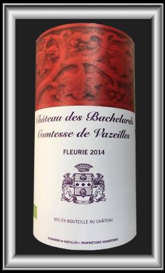Comtesse de Vazeilles, le vin du chateau Les Bachelards pour notre blog sur le vin