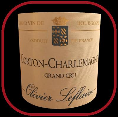 Corton-Charlemagne 2012 le vin du Domaine Olivier Leflaive pour notre blog sur le vin
