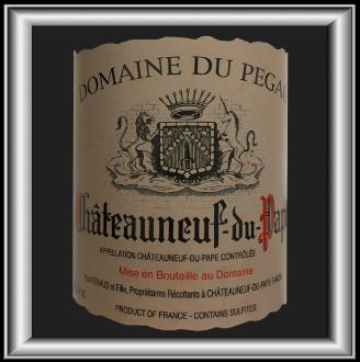 Cuvée Laurence 2012, le vin du domaine du Pégau pour notre blog sur le vin