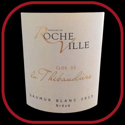 Le Clos de la Thibaudière 2013, le vin du domaine de Rocheville pour notre blog sur le vin