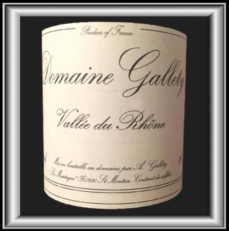 Cuvée Spéciale, le vin du domaine Gallety pour notre blog sur le vin