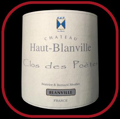 Le Clos des Poètes 2010, le vin du château Haut Blanville pour notre blog sur le vin