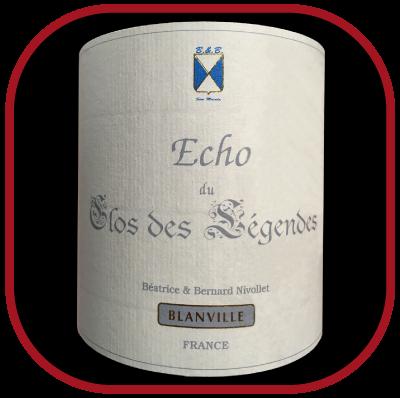Echo du Clos des Légendes 2015, le vin du château Haut Blanville pour notre blog sur le vin