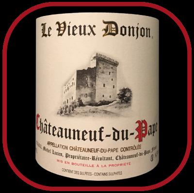Vieux Donjon 2015 rouge, le vin du Domaine Le Vieux Donjon pour notre blog