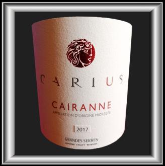 Carius blanc 2017, le vin du Domaine Grandes Serres pour notre blog sur le vin
