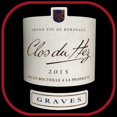 Clos du Hez 2015, le vin du château Lamothe Guignard pour notre blog sur le vin