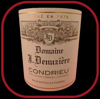 Condrieu 2015, le vin du Domaine J. Denuzière pour notre blog sur le vin