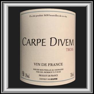 Carpe Divem, le vin du domaine Divem pour notre blog sur le vin