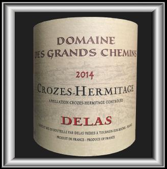 Domaine des Grands Chemin rouge 2014, le vin de la Maison Delas pour notre blog sur le vin