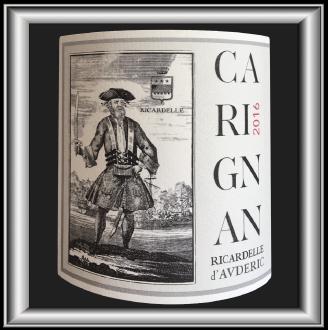 Carignan 2016, le vin du Château Ricardelle d'Auderic pour notre blog sur le vin