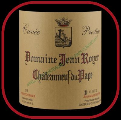 Cuvée prestige 2015, le vin du domaine Jean Royer pournotre blog sur le vin