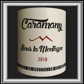 Sous la montagne 2016, le vin Caramany by Jeff Carrel pour notre blog sur le vin