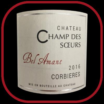 Bel amant 2016 blanc, le vin duChateau Champ des soeurs pour notre blog sur le vin
