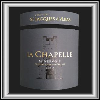 La Chapelle 2012, le vin du chateau St-Jacques d'Alba pour notre blog sur le vin