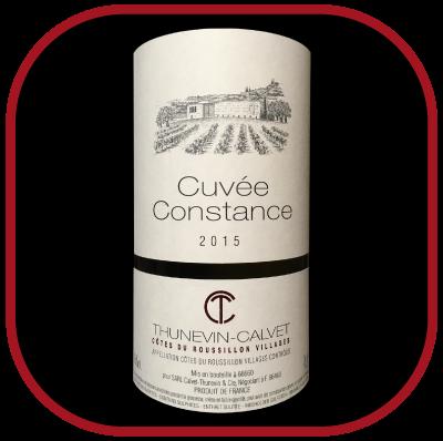 Constance 2015, le vin du domaine Thunevin Calvet pour notre blog sur le vin