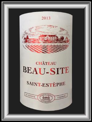 Beau Site 2013, le vin du Château Beau-Site pour notre blog sur le vin