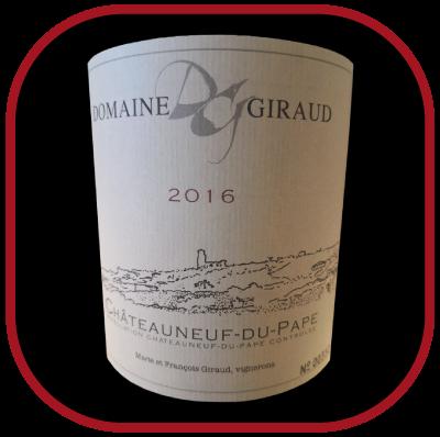 Tradition 2016 rouge, le vin du domaine Giraud pour notre blog sur le vin