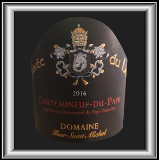 Cuvée du Lion 2016, le vin du Domaine Tour St-Michel pour notre blog sur le vin