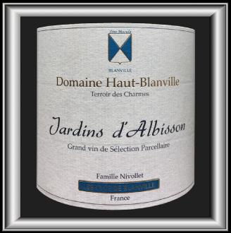 Jardin d'Albisson 2016, le vin du Domaine Haut Blanville pour notre blog sur le vin