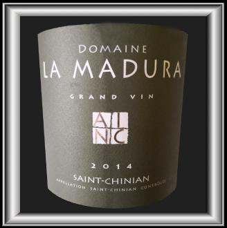 Grand vin 2014 le vin du domaine La Madura pour notre blog sur le vin